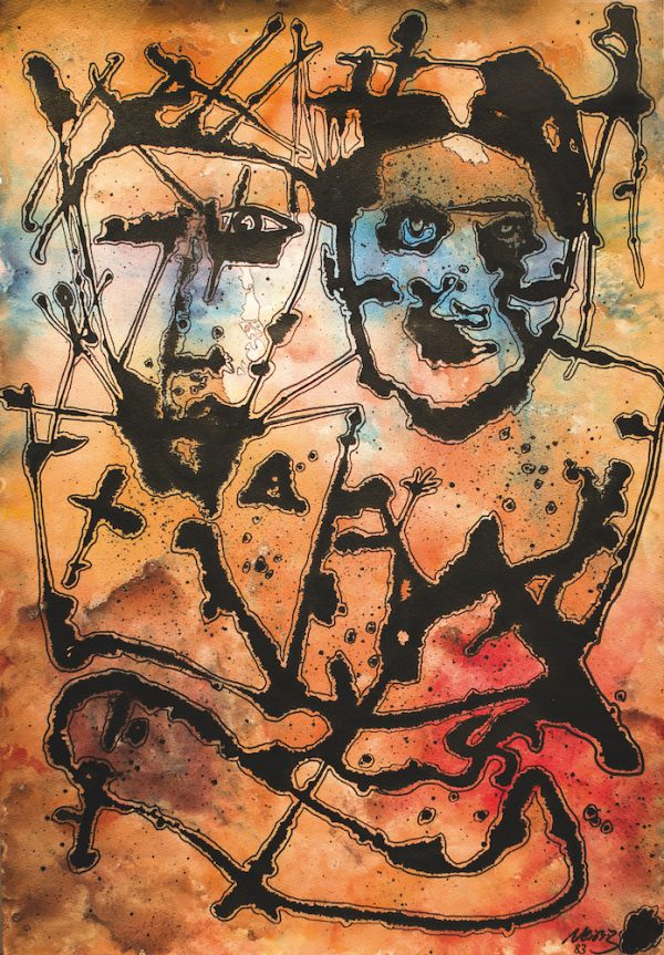 Hamid S. Neiriz - Zwei Masken